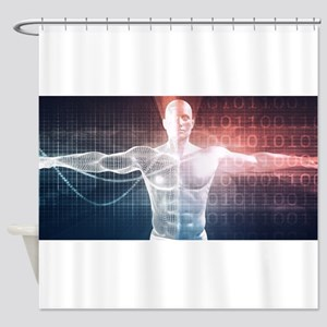 Medical Technology Shower Curtain