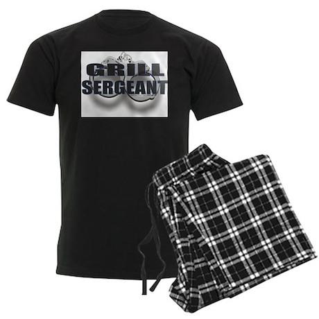 GRILL SERGEANT Men's Dark Pajamas