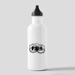 FBI Stainless Water Bottle 1.0L