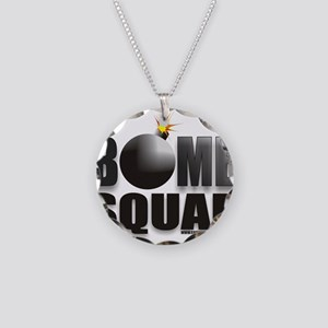 BOMB SQUAD Necklace Circle Charm