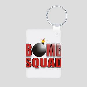 BOMB SQUAD Aluminum Photo Keychain