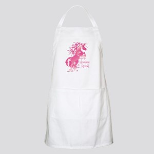 Horses Rock Pink Apron