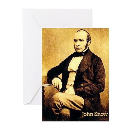 John Snow Greeting Cards (Pk of 10)