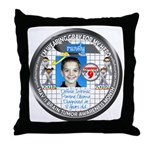 Randy P Throw Pillow