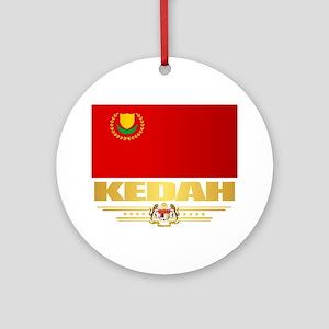 Kedah Round Ornament