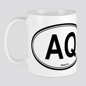 Antarctica (AQ) euro Mug