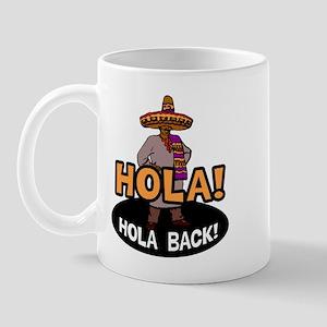 Hola Back Mug