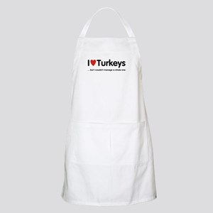 ...but I couldn't manage a whole one BBQ Apron