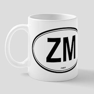 Zambia (ZM) euro Mug