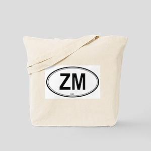 Zambia (ZM) euro Tote Bag