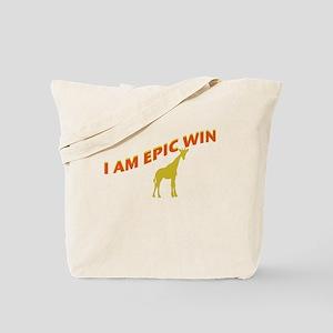 I AM EPIC WIN Tote Bag