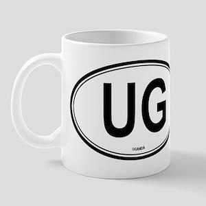 Uganda (UG) euro Mug
