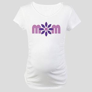 Flower Mom Maternity T-Shirt