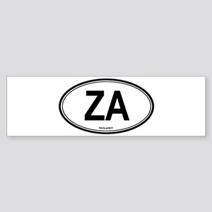 South Africa (ZA) euro Bumper Sticker