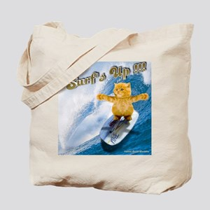 Surfs Up !!! Kitty Tote Bag