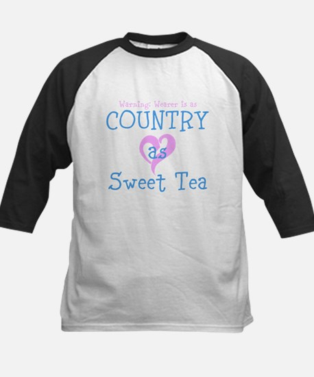 Warning: Wearer is as country as Sweet Tea Basebal