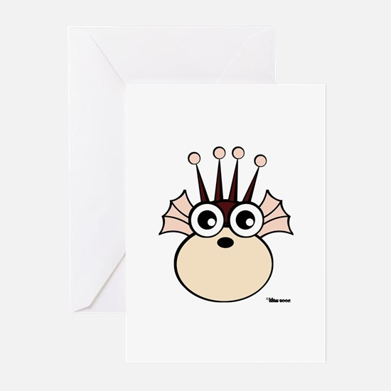 Sea Monkey Greeting Cards (Pk of 10)
