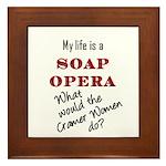 What Would the Cramer Women Do? Framed Tile