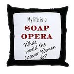 What Would the Cramer Women Do? Throw Pillow