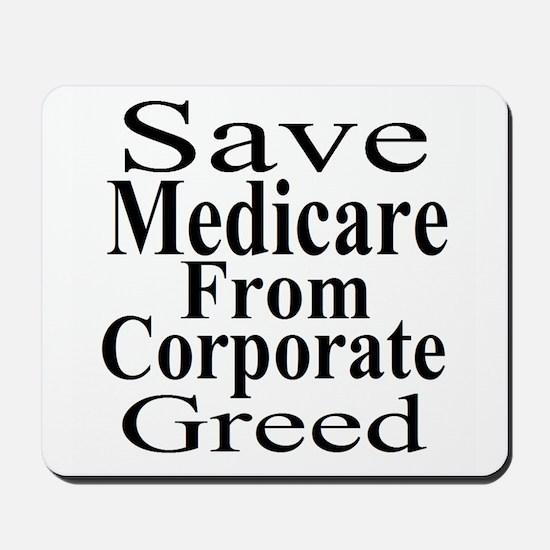 Save Medicare Mousepad