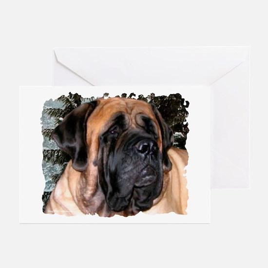 Mastiff 36 Greeting Cards (Pk of 10)