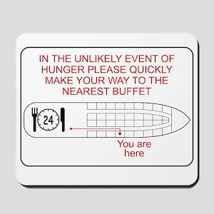 Hunger Emergency Mousepad