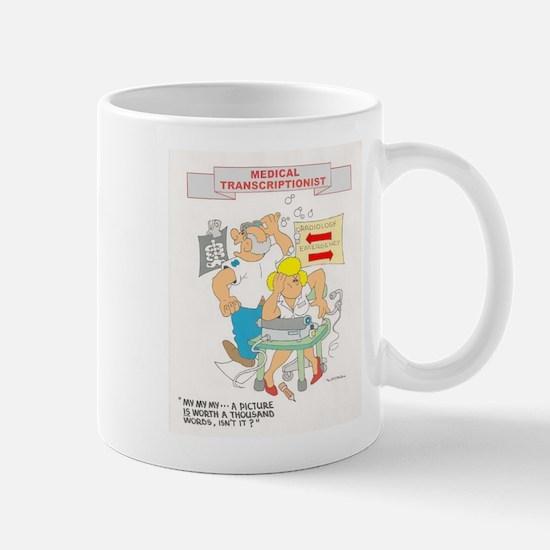 Medical Transcrptionist Mug