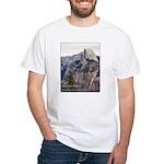 Half Dome, Glacier Pt. t-shirt--white