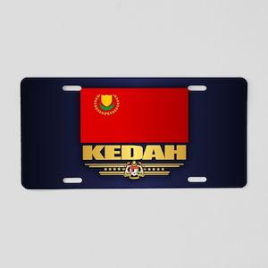Kedah Aluminum License Plate