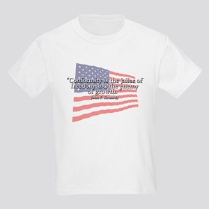 John F. Kennedy Quote Kids T-Shirt