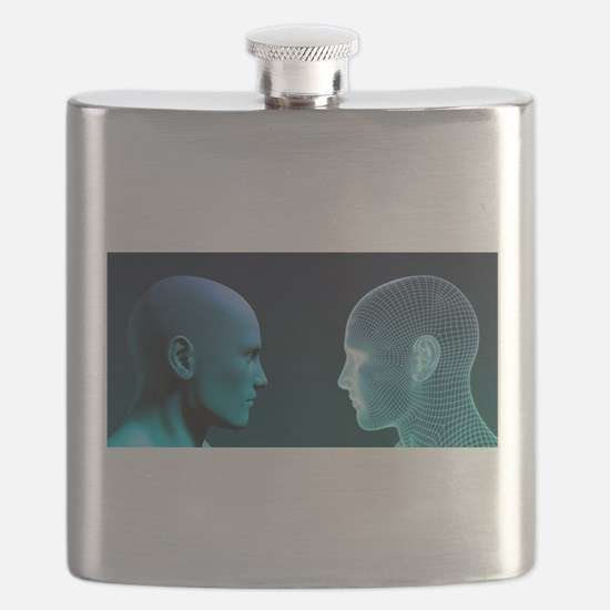 Man vs Machine Competing in Flask