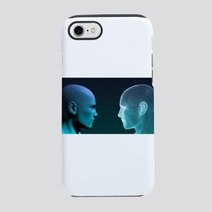 Man vs Machine Competing in iPhone 7 Tough Case