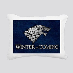 GOT WINTER IS COMING 4 Rectangular Canvas Pillow