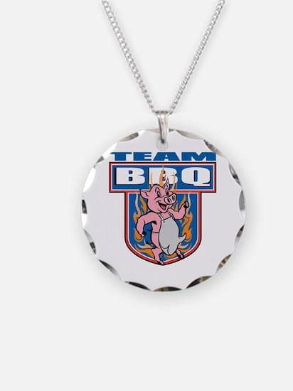 Team Pork BBQ Necklace