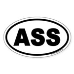 ASS Euro Oval Sticker