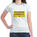 Maximum capacity 3 Jr. Ringer T-Shirt