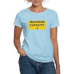 Maximum capacity 3 Women's Light T-Shirt
