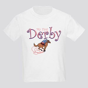 My First Derby (girl) Kids Light T-Shirt