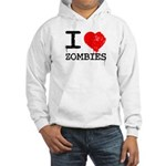 I Heart Zombies Hooded Sweatshirt