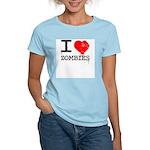 I Heart Zombies Women's Light T-Shirt