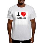 I Heart Zombies Light T-Shirt