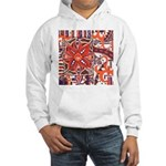 Poinsettia Power Hooded Sweatshirt