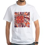 Poinsettia Power White T-Shirt