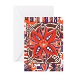 Poinsettia Power Greeting Card