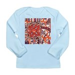 Poinsettia Power Long Sleeve Infant T-Shirt