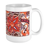 Poinsettia Power Large Mug