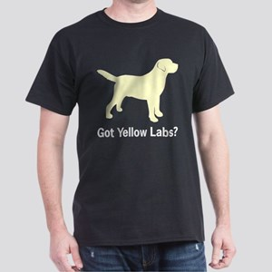 Got Yellow Labs II Black T-Shirt