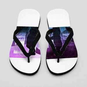 Business Training Flip Flops
