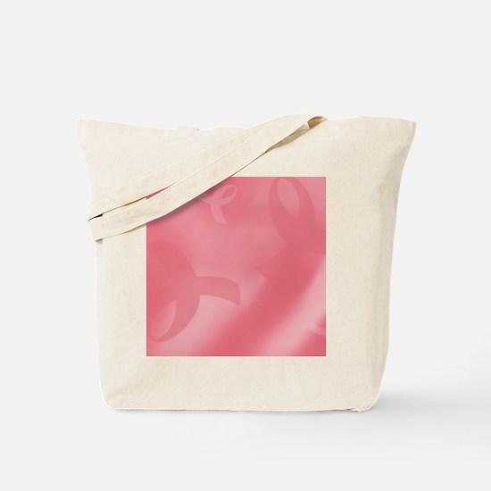 Breast Cancer Ribbons Tote Bag