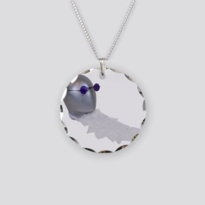 PurpleGlassesJabot111409 Necklace Circle Charm